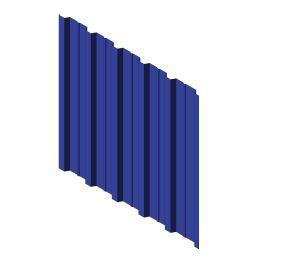 Product: 27/200-6 Form Roof and Wall Corrugated Sheet