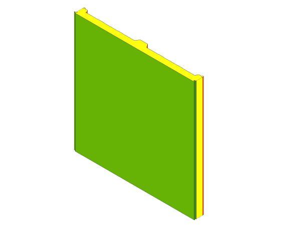 bimstore 3D image of Assan Panels - 3 Roof Panel