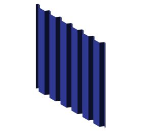 Product: 38/151-7 Roof and Wall Corrugated Sheet