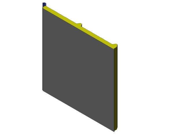 bimstore 3D image of Assan Panels - N3 Roof Panel