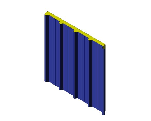 bimstore 3D image of Assan Panels - N5 Roof Panel