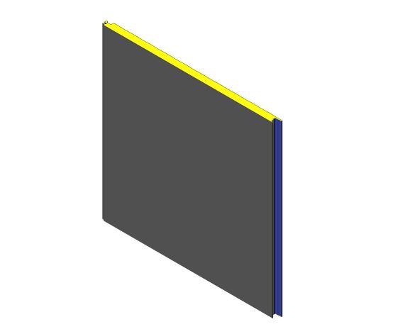 bimstore 3D image of Assan Panels - W 40 Wall Panel