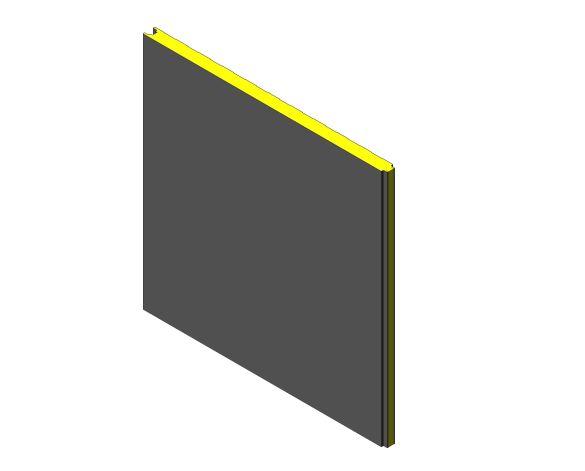 bimstore 3D image of Assan Panels - W Prefabricated Wall Panel