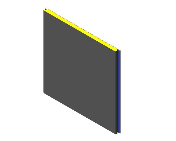 bimstore 3D image of Assan Panels - W Sinus Wall Panel
