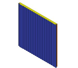 Product: W Sinus Wall Panel