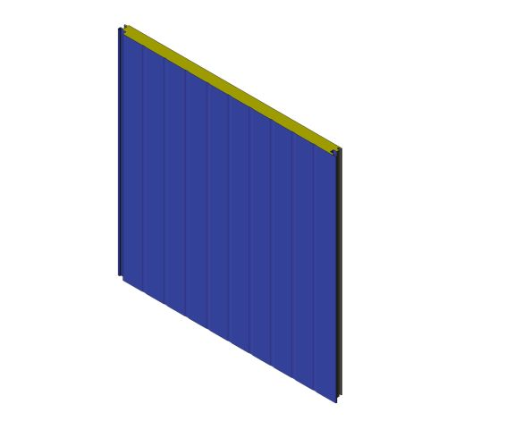 bimstore 3D image of Assan Panels - WT Wall Panel