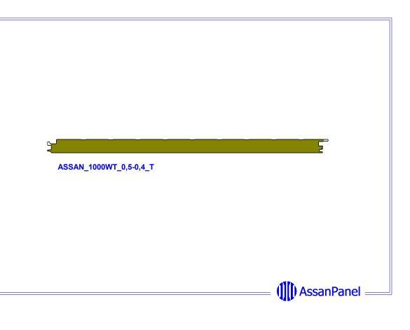 bimstore side image of Assan Panels - WT Wall Panel