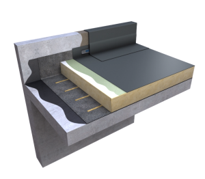 Product: Ecoflex® ADH Warm Roof Adhered Single Ply System