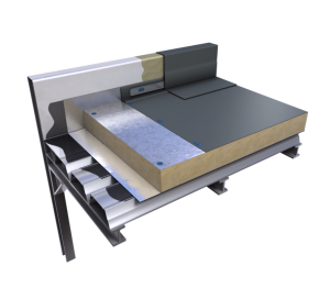 Product: Ecoflex® FM Warm Roof Mechanically Fixed Single Ply System
