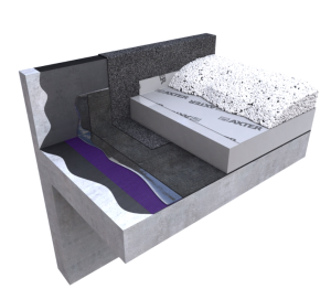 Product: Wilotekt®-Plus Inverted Roof Hot Melt Structural Waterproofing System