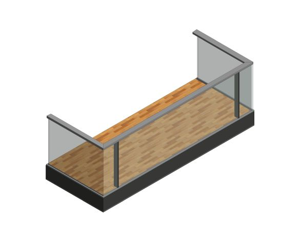 Product: B3 Balustrade System ISO