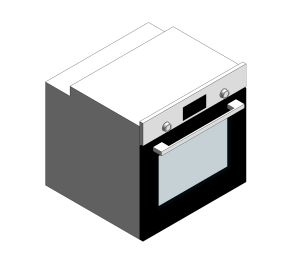 Product: Bosch Serie 2 Integrated Single Oven Stainless Steel - HHF113BR0B