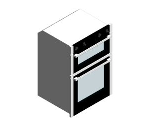 Product: NEFF Integrated Tower Double Oven Stainless Steel - U1ACE5HN0B