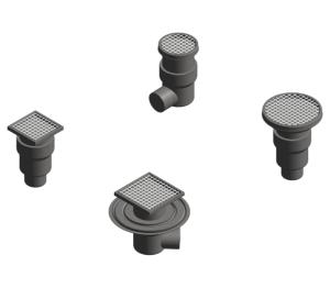 Product: Two part Kitchen drain  – Tile / Resin / Concrete