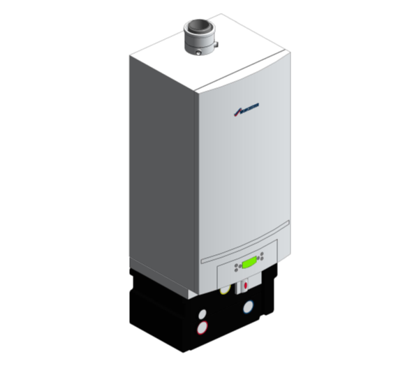 GB162 V2 Gas-Fired Condensing Boiler (Single)