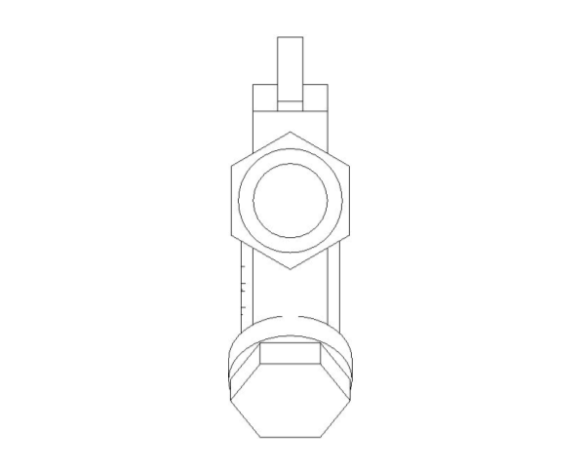 bimstore side image of BOSS Ball Valve - 282CF