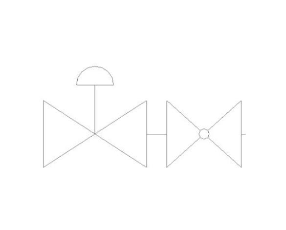 bimstore plan symbol image of BOSS Ball Valve - 282CF