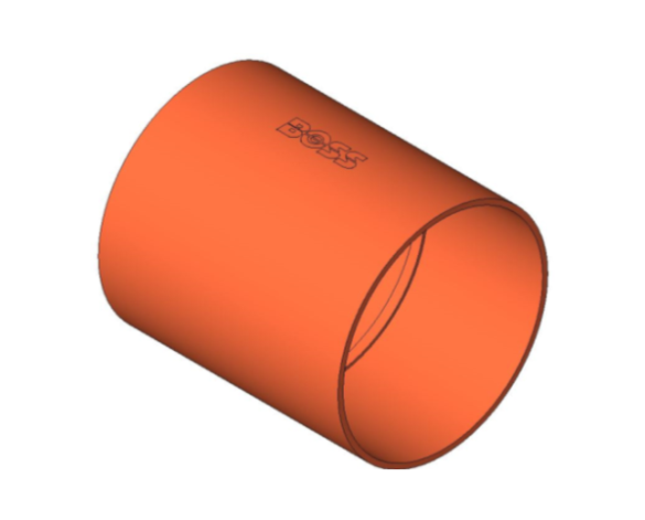 bimstore 3D image of BB1 Coupling from Boss