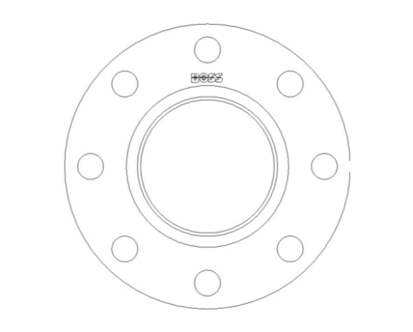 bimstore side image of the Bi-Metallic Flanges Table 16/23 from Boss
