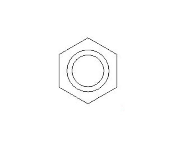 bimstore side image of the Brass Screwed Pipe Hexagon Nipple Reducing from Boss