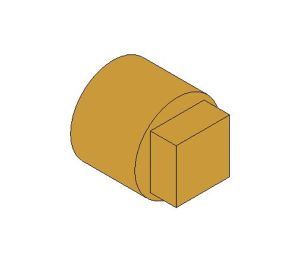 Product: Brass Screwed Solid Square Head Plug