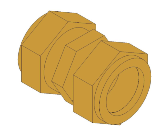 bimstore 3D image of the Compression Coupling from Boss