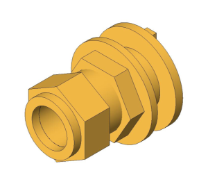 Product: Compression Flanged Tank Connector