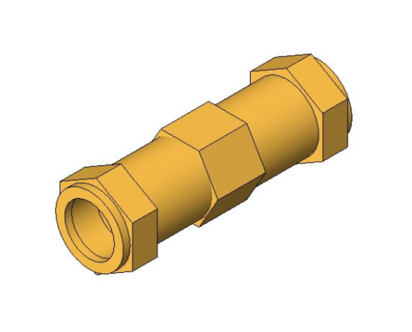 bimstore 3D image of the Compression Long Coupling from Boss