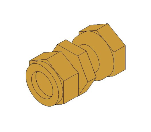 Product: Compression Swivel Tap Connector