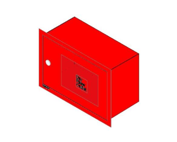 bimstore 3D image of BOSS Dry Riser Cabinets