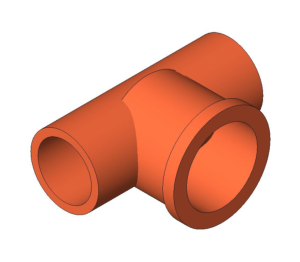 Product: End Feed Fitting - Female Branch Tee