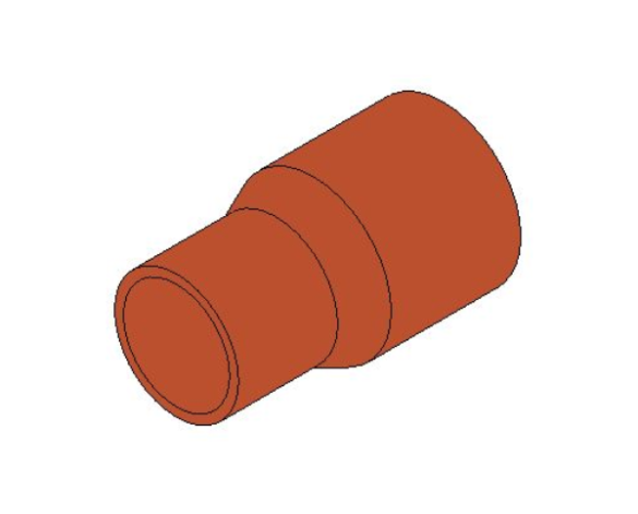 bimstore 3D image of the End Feed Fitting - Reducer from Boss