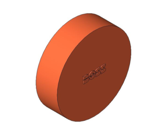 bimstore 3D image of the End Feed Fitting - Tube End Cap from Boss