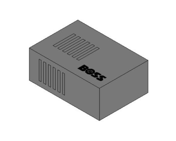bimstore 3D image of BOSS Fire Alarm Devices - ETL