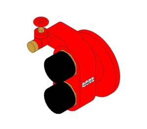 Product: Fire Control - Dry Riser Inlet Breeching