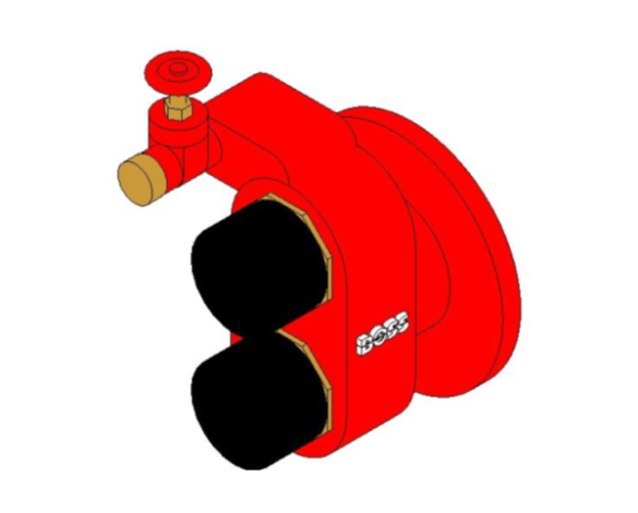bimstore 3D image of BOSS Fire Control - Dry Riser Inlet Breeching