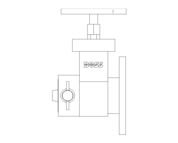 bimstore side image of BOSS Fire Control - Dry Riser Valves