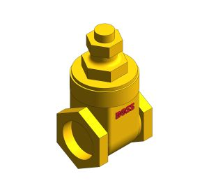 Product: Bronze Gate Valve - 25SMLS