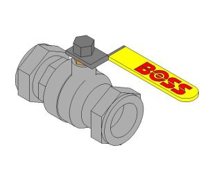 Product: Lever Ball Valve - 968SYL