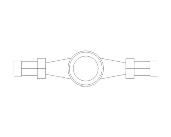 bimstore plan image of BOSS Multi Jet Water Meter - 38