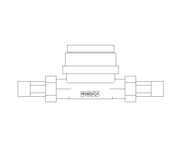 bimstore front image of BOSS Single Jet Water Meter - 38