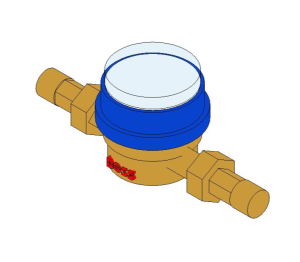 Product: Single Jet Water Meter - 38