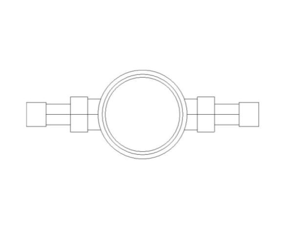 bimstore plan image of BOSS Single Jet Water Meter - 38