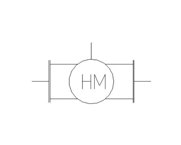 bimstore plan symbol image of BOSS Ultra Sonic Heat Meter - 38USH