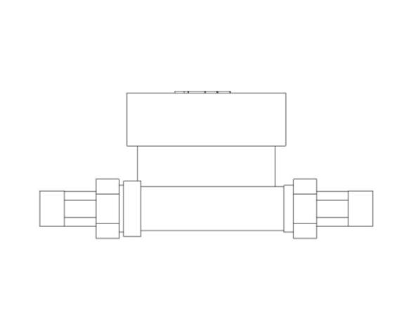 bimstore front image of BOSS Ultra Sonic Heat Meter - 38USHW-A