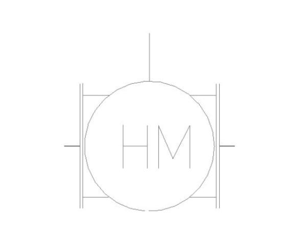 bimstore plan symbol image of BOSS Ultra Sonic Heat Meter - 38USHW-A