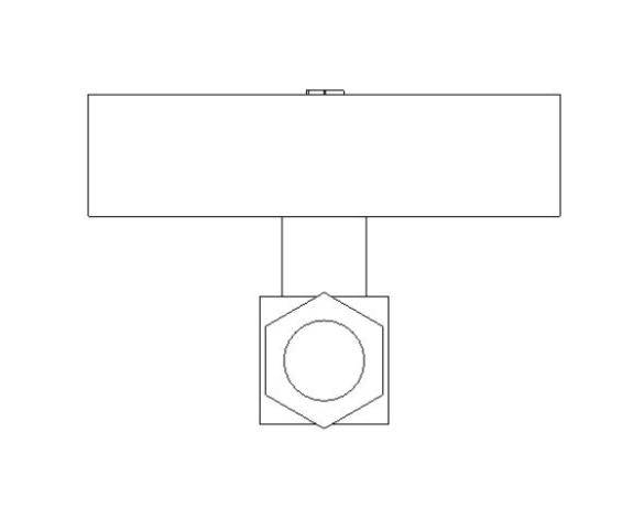 bimstore side image of BOSS Ultra Sonic Heat Meter - 38USHW-A
