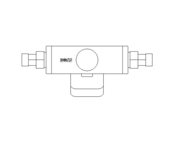 bimstore plan image of BOSS Ultra Sonic Heat Meter - 38USHW-B