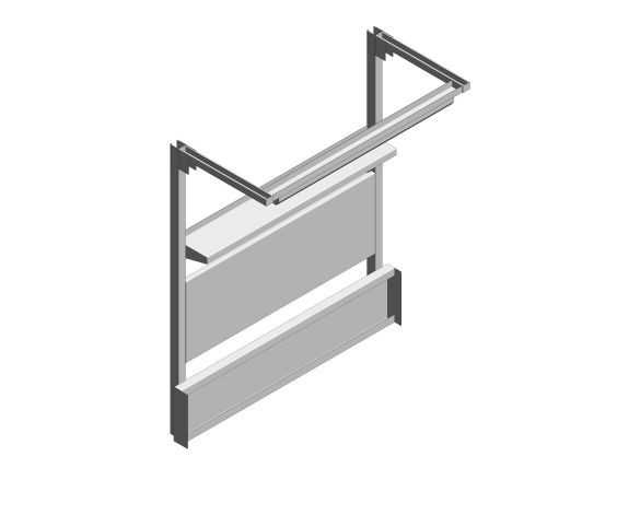 bimstore 3D image of the Cubio Bench OH Kit 15-01 from Bott