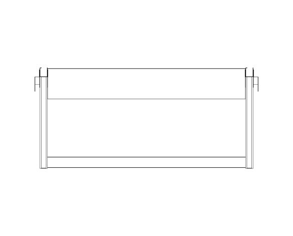 bimstore plan image of the Cubio Bench OH Kit 15-01 from Bott
